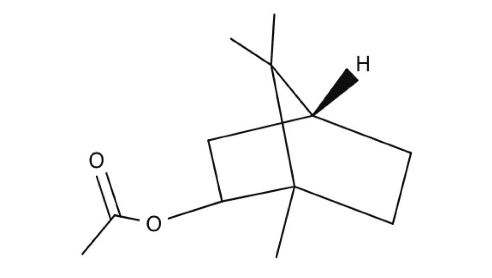 Bornyl Acetate chemical structure
