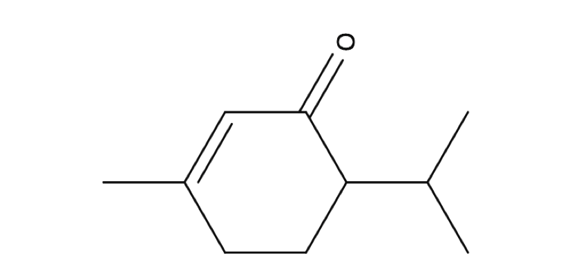 Piperitone chemical structure