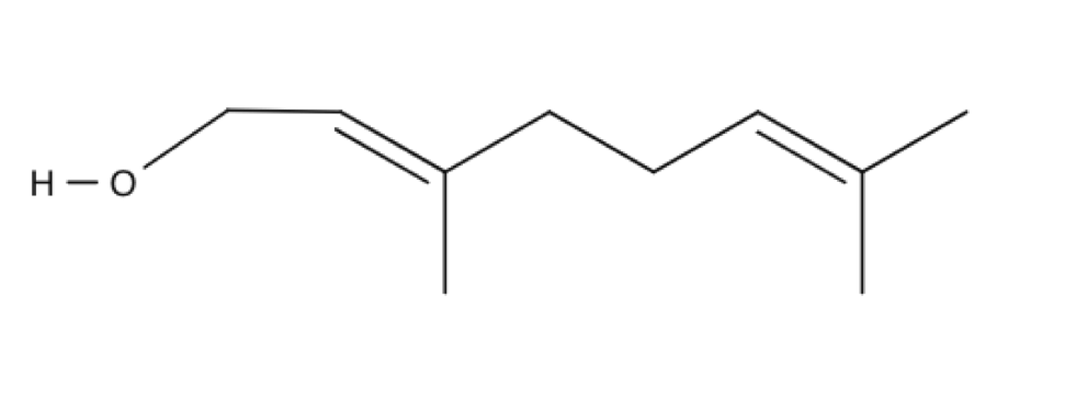 Nerol chemical structure