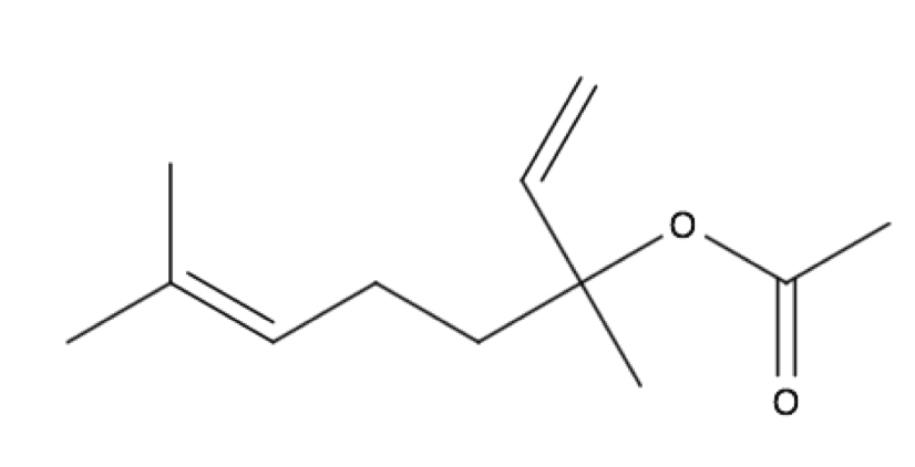 Linalyl Acetate chemical structure