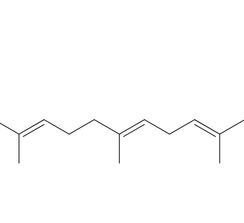 Alpha-Farnesene chemical structure