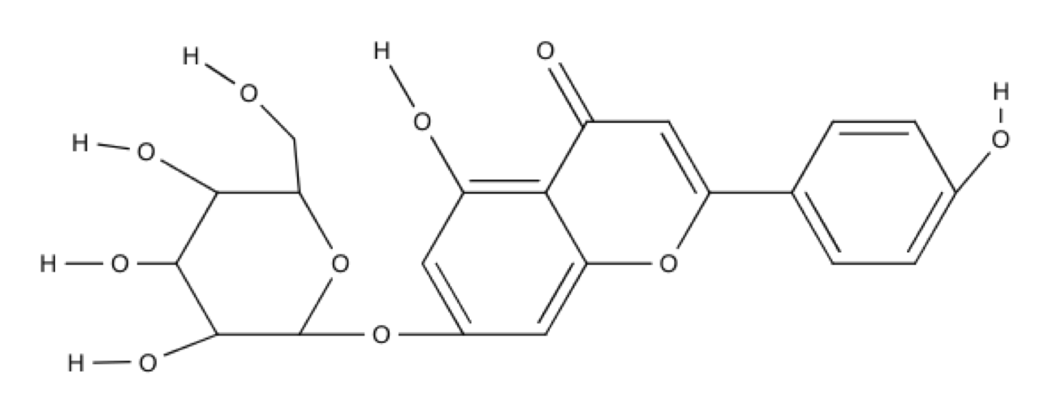 Apigenin-Glucoside chemical structure