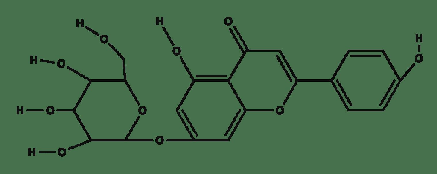 Apigenin-Glucoside chemical structure