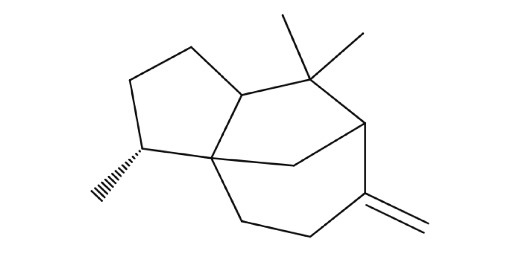 Beta Cedrene chemical structure