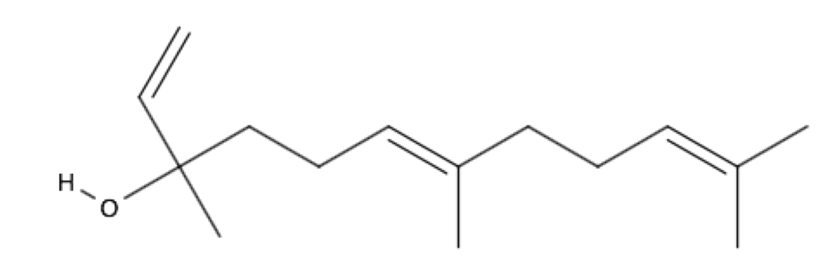 trans-Nerolidol chemical structure
