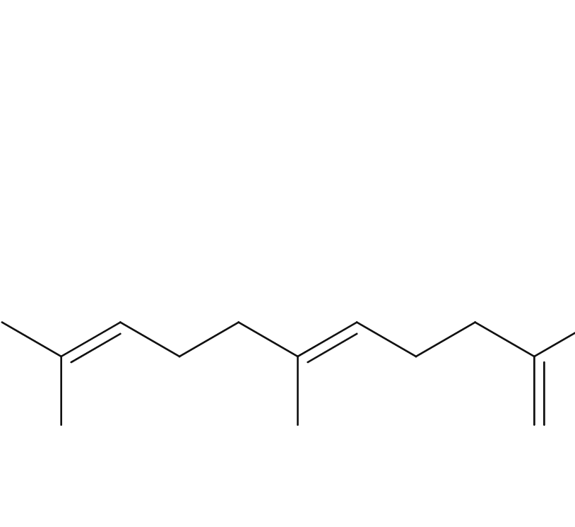 Beta Farnesene chemical formula