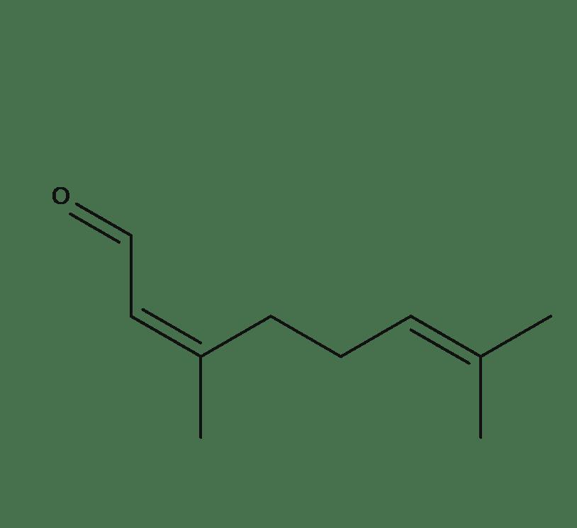 Cis-Citral chemical formula