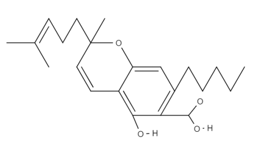 Cannabichromenic Acid chemical structure