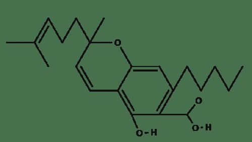 Cannabichromenic Acid chemical structure