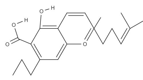 Cannabichromevarinic Acid chemical structure