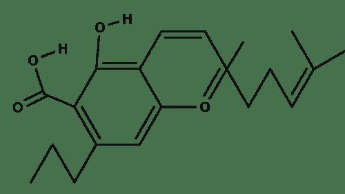 Cannabichromevarinic Acid chemical structure