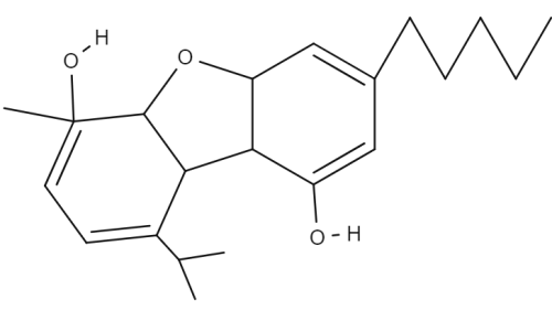 Cannabiclsoin chemical structure