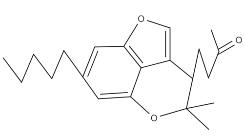 Cannabicounmaronic Acid chemical structure
