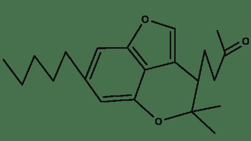 Cannabicounmaronic Acid chemical structure
