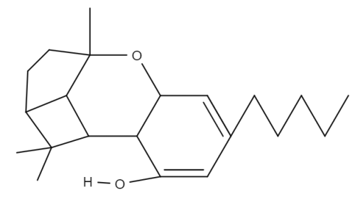 Cannabicyclol chemical structure