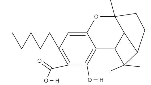 Cannabicyclolic Acid chemical structure