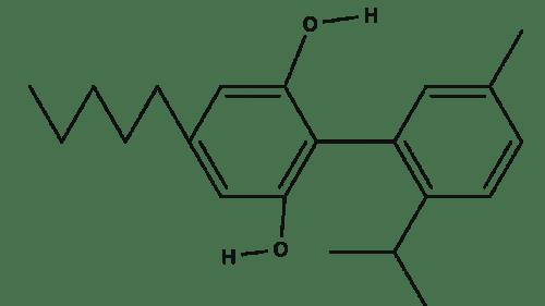 Cannabidiol chemical structure
