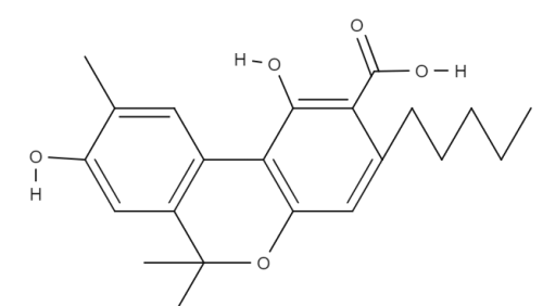 Cannabidiolic Acid (chemical structure