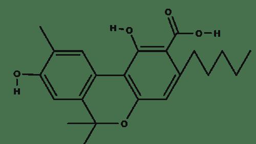 Cannabidiolic Acid (chemical structure