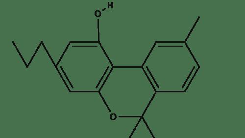 Cannabidivarin chemical structure