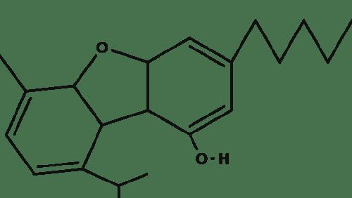 Cannabifuran chemical structure
