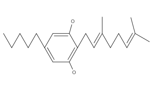 Cannabigerol Monomethylether chemical structure