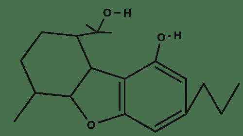 Cannabiglendol C3 chemical structure