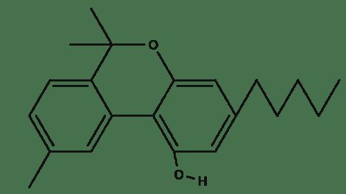 Cannabinol chemical structure