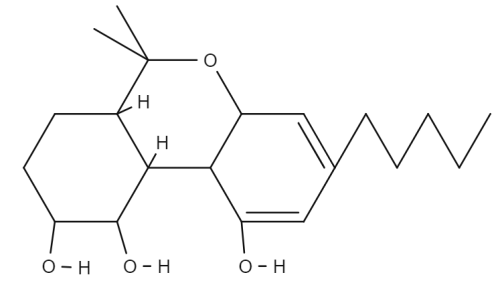 Cannabiripsol chemical structure