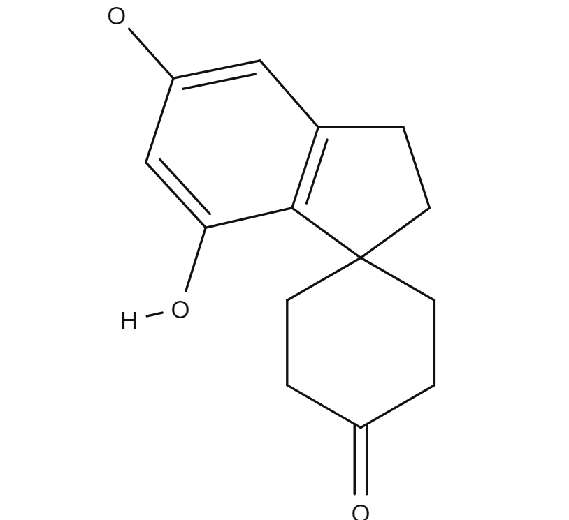 Cannabispiran chemical structure