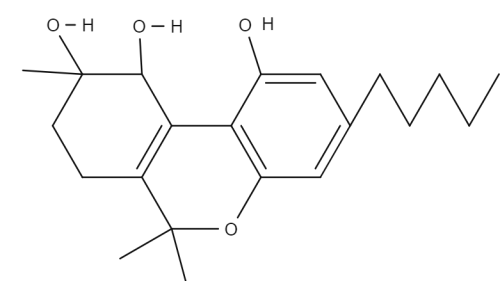 Cannabitroil chemical structure