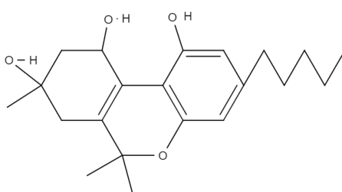 Cannabitrol chemical structure