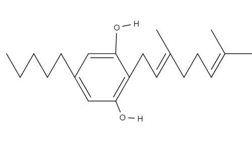 Cannbigerol chemical structure