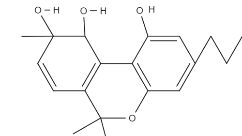 Ethoxy Droxy Tetrahydrocannabinol chemical structure