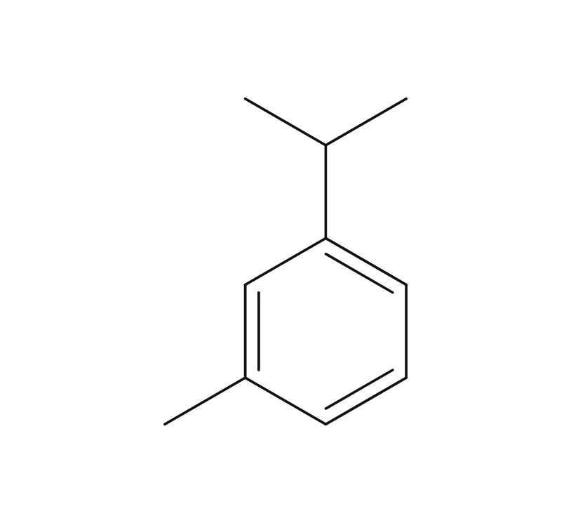 M-Cymene chemical structure