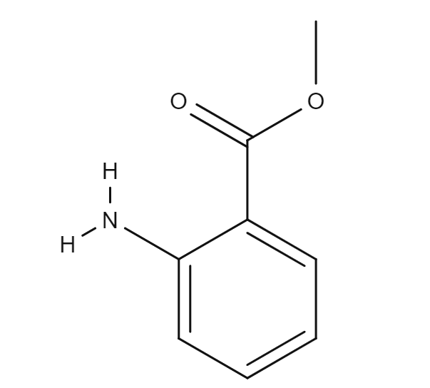 Methyl anthranilate chemical structure