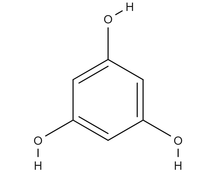 Phloroglucinol chemical structure