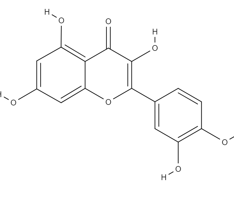 Quercetin chemical structure