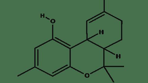 Tetraydrocannabiorcol chemical structure